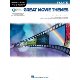 Instrumental Play Along Great Movie Themes Flûte + Audio
