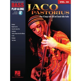 Bass Play Along Jaco PASTORIUS Volume 50