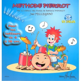 METHODE PIERROT Volume 1 + CD