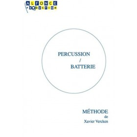 Percussion / Batterie Méthode de Xavier Vercken