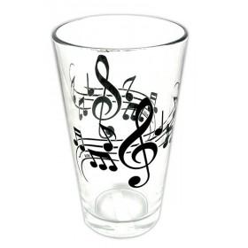 VERRE Note de Musique