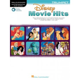 Instrumental Play Along Disney Movie Hits Trompette