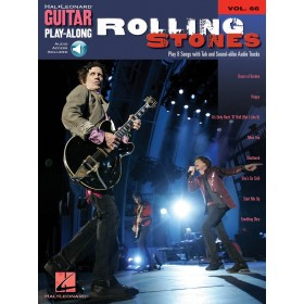 Guitar Play Along Rolling Stones Volume 66 + Audio Online