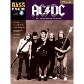 Bass Play Along AC/DC Volume 40 + Audio Online