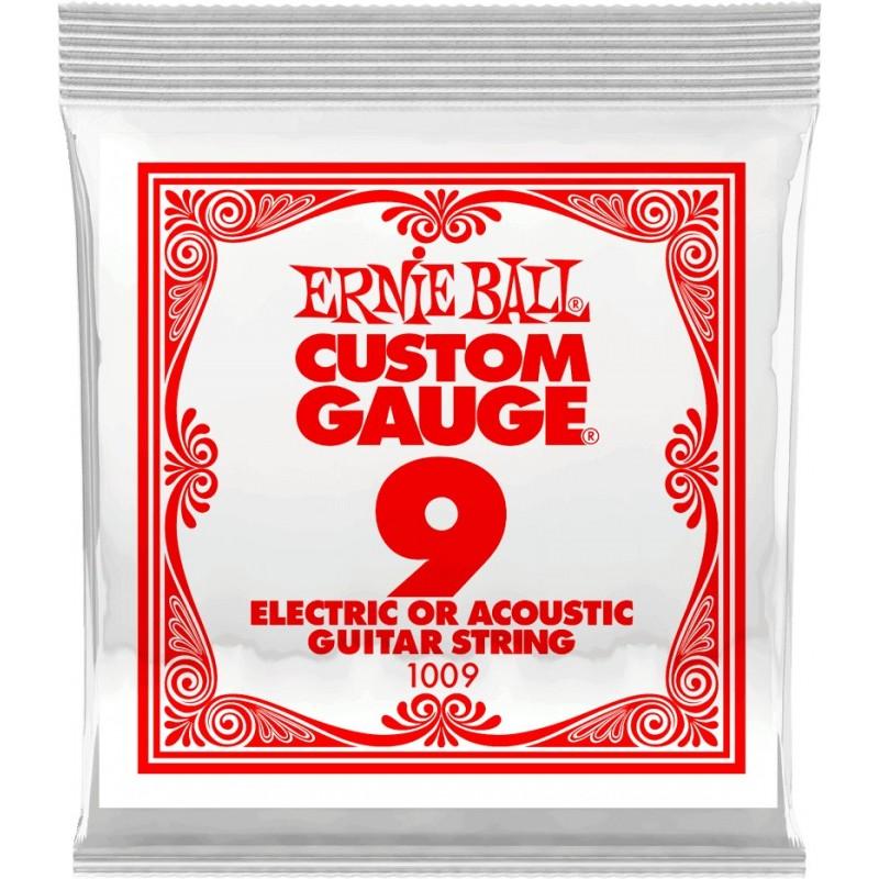 ERNIE BALL Corde Electrique ou Acoustique 09