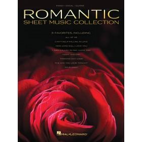 Romantic Sheet Music Collection Piano Voix Guitare