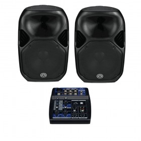 LOCATION Pack Sono WHARFEDALE PRO 600 Watts RMS 50 à 120 Personnes