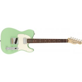 FENDER American Performer Telecaster Hum Satin Surf Green Rosewood