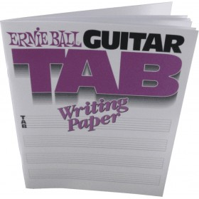 ERNIE BALL Cahier Tablature Guitare