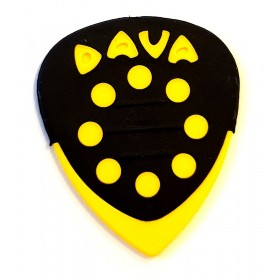 DAVA Médiator GRIP TIPS Jaune