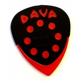 DAVA Médiator GRIP TIPS Rouge
