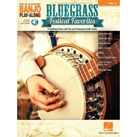 Banjo Play Along Bluegrass Volume 9