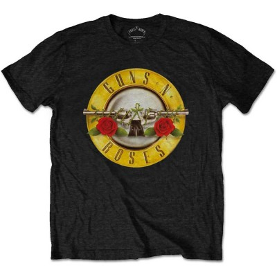 T-Shirt Homme GUNS N ROSES Classic Logo Taille S