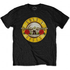 T-Shirt Homme GUNS N ROSES Classic Logo Taille L