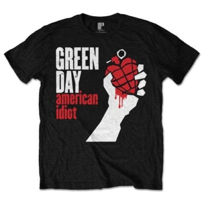 T-Shirt Homme GREEN DAY American Idiot Taille S