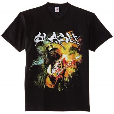 T-Shirt Homme SLASH Flames Taille S