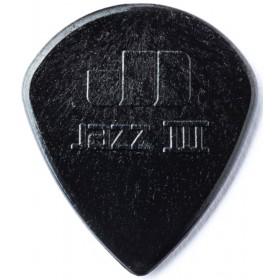 DUNLOP Médiator NYLON JAZZ III Noir 1,38 mm