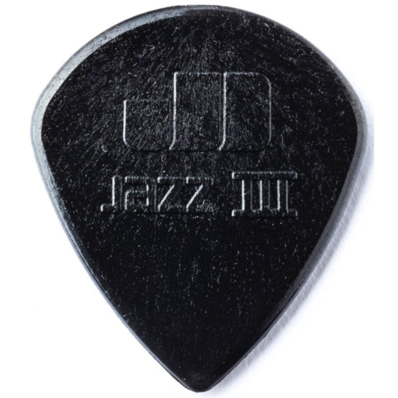 DUNLOP Médiator NYLON JAZZ Noir 1,38 mm
