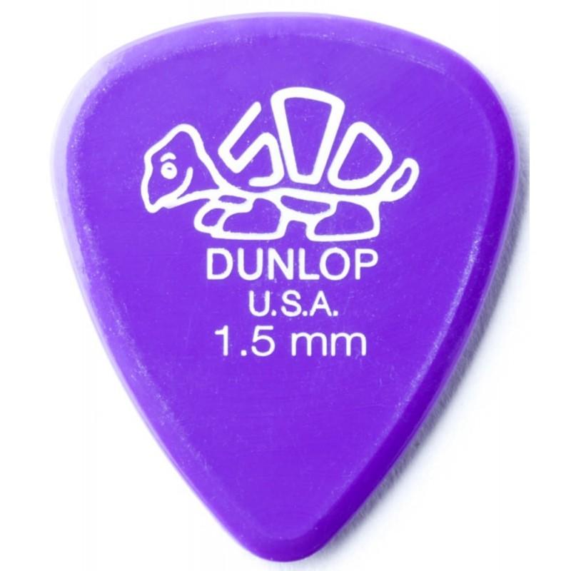 DUNLOP Médiator DELRIN Standard 1,5 mm Lavande