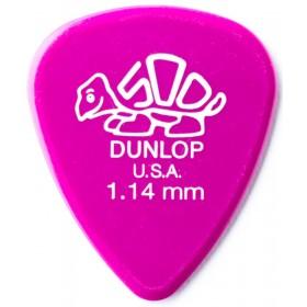 DUNLOP Médiator DELRIN Standard 1,14 mm Magenta