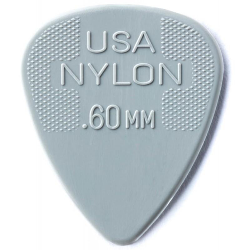 DUNLOP Médiator NYLON Standard 0,60 mm