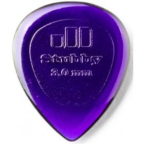 DUNLOP Médiator STUBBY Jazz 3 mm Violet