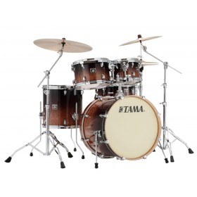"TAMA SUPERSTAR CLASSIC MAPLE 22"" Coffee Fade"