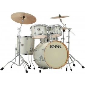"TAMA SUPERSTAR CLASSIC MAPLE 22"" Satin Arctic Pearl + Hardware"