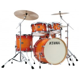 "TAMA SUPERSTAR CLASSIC MAPLE 22"" Tangerine Lacquer Burst + Hardware"