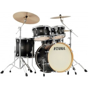 "TAMA SUPERSTAR CLASSIC MAPLE 22"" Transparent Black Burst + Hardware"