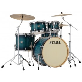 "TAMA SUPERSTAR CLASSIC MAPLE 22"" Blue Lacquer Burst + Hardware"