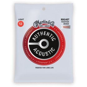 MARTIN Phosphore Bronze Authentic Treated Light 12-54