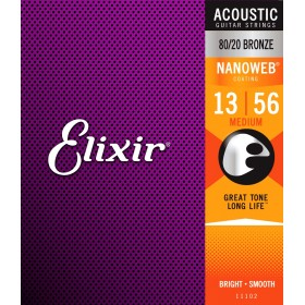 ELIXIR NANOWEB Bronze Medium 13-56