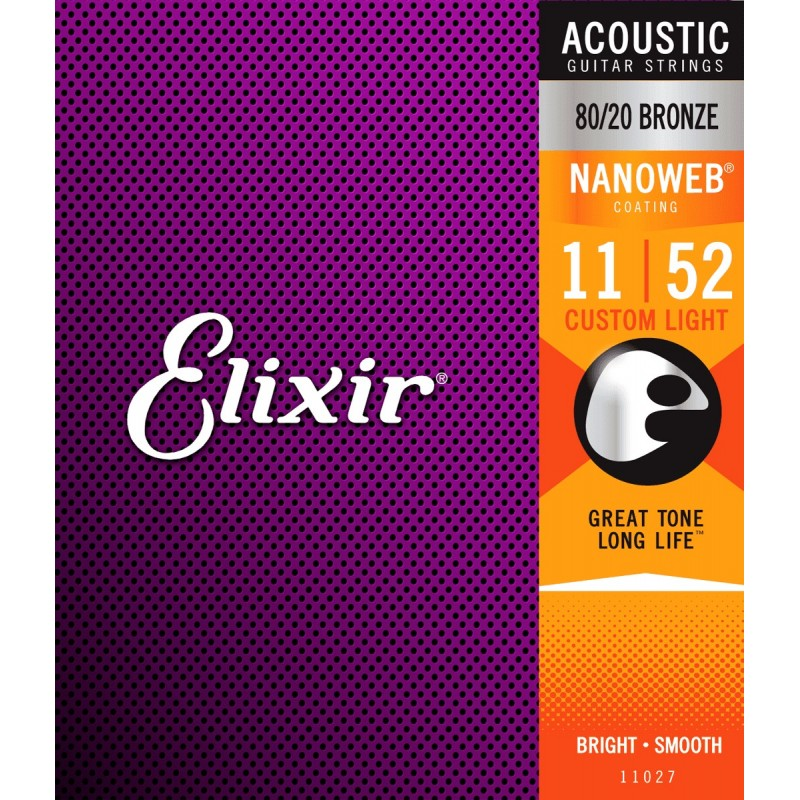 ELIXIR NANOWEB Custom Light 11-52