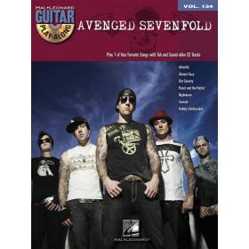 Guitar Play Along Avenged Sevenfold Volume 134 + CD