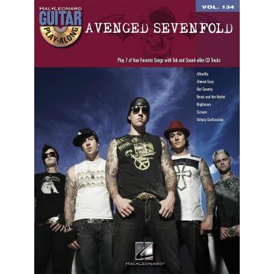 Guitar Play Along Avenged Sevenfold Volume 134 + CD