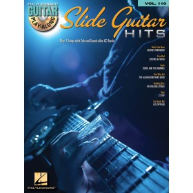 Guitar Play Along Slide Guitar Hits Volume 110 + CD