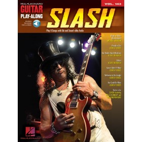 Guitar Play Along Slash Volume 143 + Online Audio