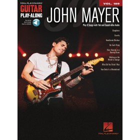 Guitar Play Along John Mayer Volume 189 + Audio Online