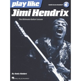 Play Like Jimi Hendrix + Audio Online