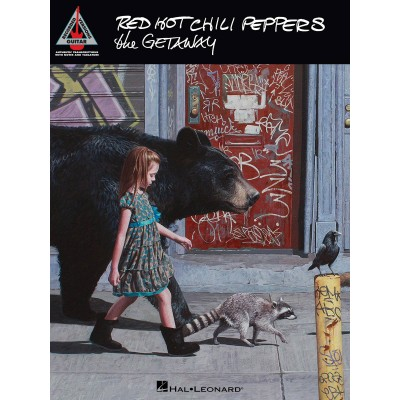 RED HOT CHILI PEPPERS The Getaway Recorded Versions Guitar