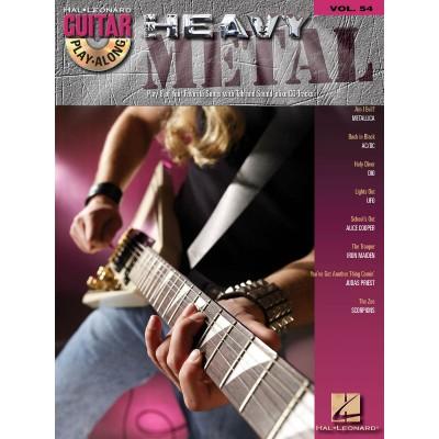 Guitar Play Along Heavy Metal Volume 54 + CD