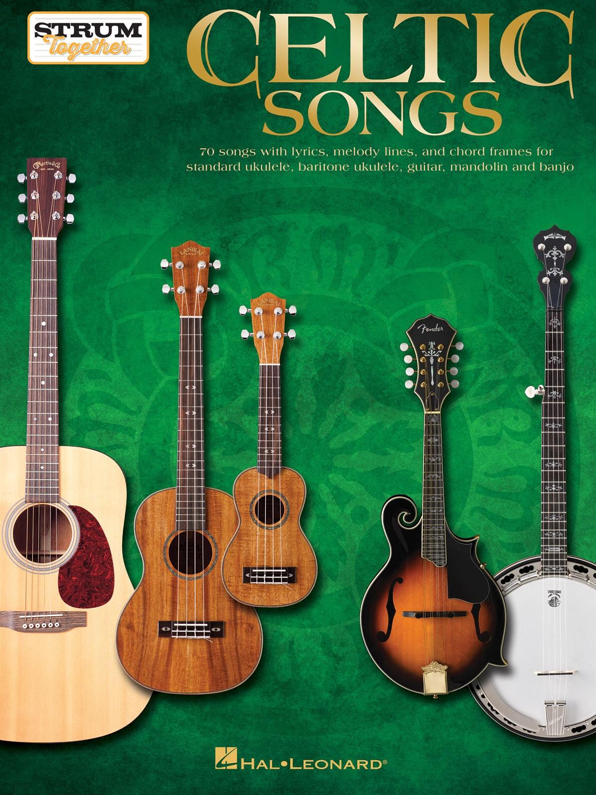CELTIC SONGS Ukulele / Mandoline / Guitare / Banjo - AB ROAD