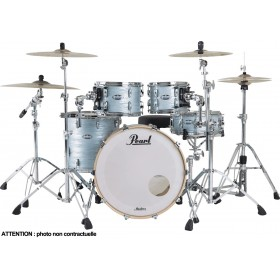 "PEARL Master Maple Complete Rock 22"" Ice Blue Oyster"