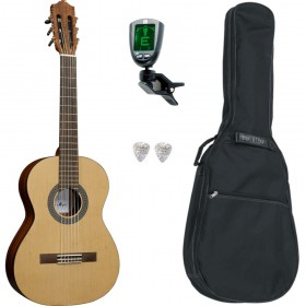 Pack Guitare Classique SANTOS Y MAYOR ESTUDIO 7 3/4