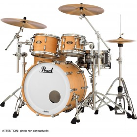 "PEARL Master Maple Gum Rock 22"" Satin Natural Maple"