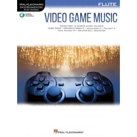 Instrumental Play Along Video Game Music Flûte Traversière + Audio Online