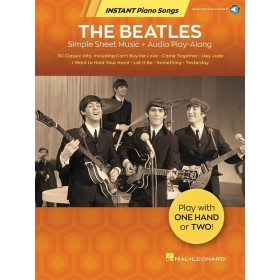 Instant Piano Songs The Beatles + Audio Access Online