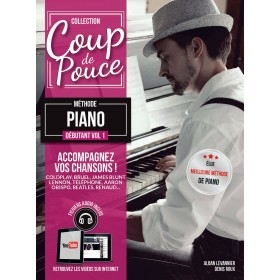 Coup de Pouce Méthode Débutant Piano Volume 1