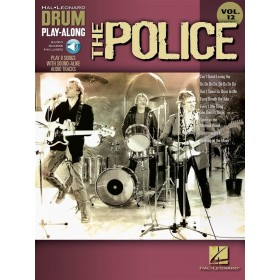 Drum Play Along The Police Volume 12 + Audio Online